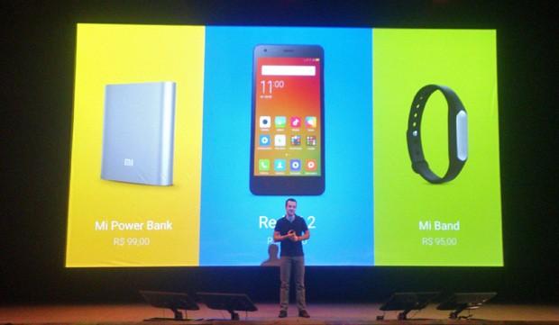 Hugo Barra, vice-presidente de expansão internacional da Xiaomi, anuncia lançamento da marca no Brasil (Foto: Cesar Soto/G1)