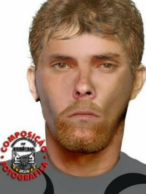 Polícia Civil divulga retrato falado de um dos suspeitos de chacina (Foto: Polícia Civil/Divulgação)