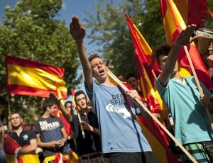 Ultradireita espanhola Madri (Foto: AFP)