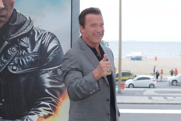Arnold Schwarzenegger (Foto: Marcello Sá Barreto/ Ag. News)