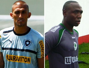 Montagem - Rafael Marques e Gilcimar, Botafogo x Boavista (Foto: Editoria de Arte)