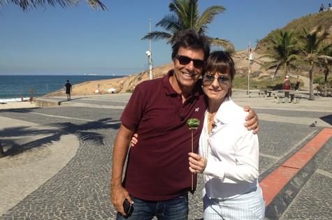 Evandro Mesquita e Fernanda Abreu (Foto: Divulgação)