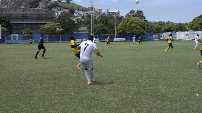 Espírito Santo goleou o GEL em partida que aconteceu neste domingo, no Salvador Costa  (Foto: Richard Pinheiro/GloboEsporte.com)