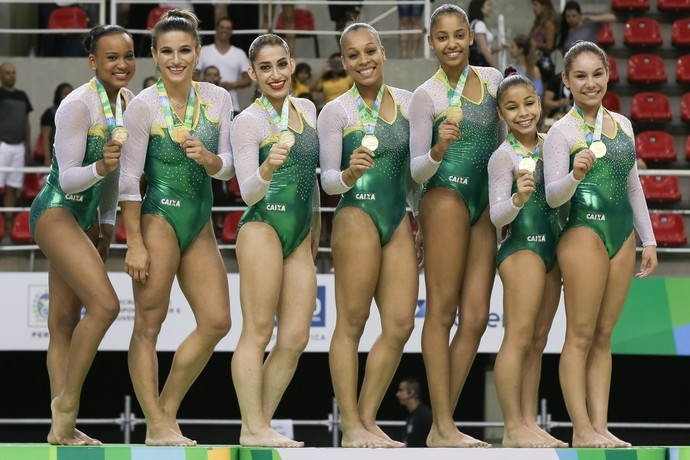 Brasil leva título do evento-teste (Foto: Ricardo Bufolin/ECP)