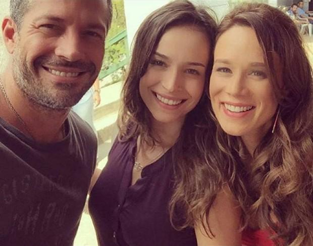 Haja Coração: Malvino Salvador, Marcella Valente e Mariana Ximenes (Foto: Reprodução/Instagram)