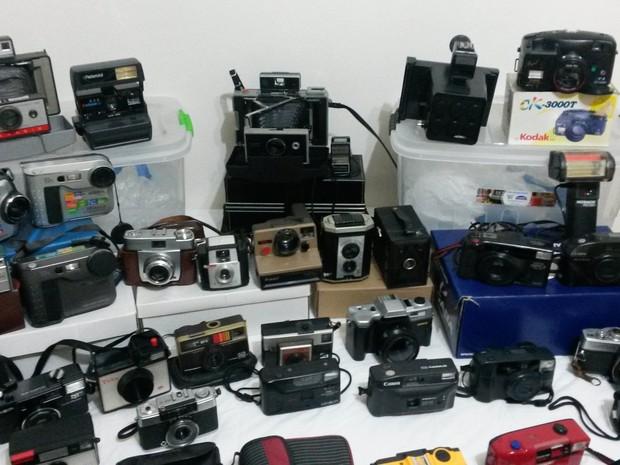 61 máquinas fazem parte da exposição em São José (Foto: Divulgação)