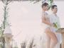 Isabeli Fontana compartilha vídeo do casamento com Di Ferrero