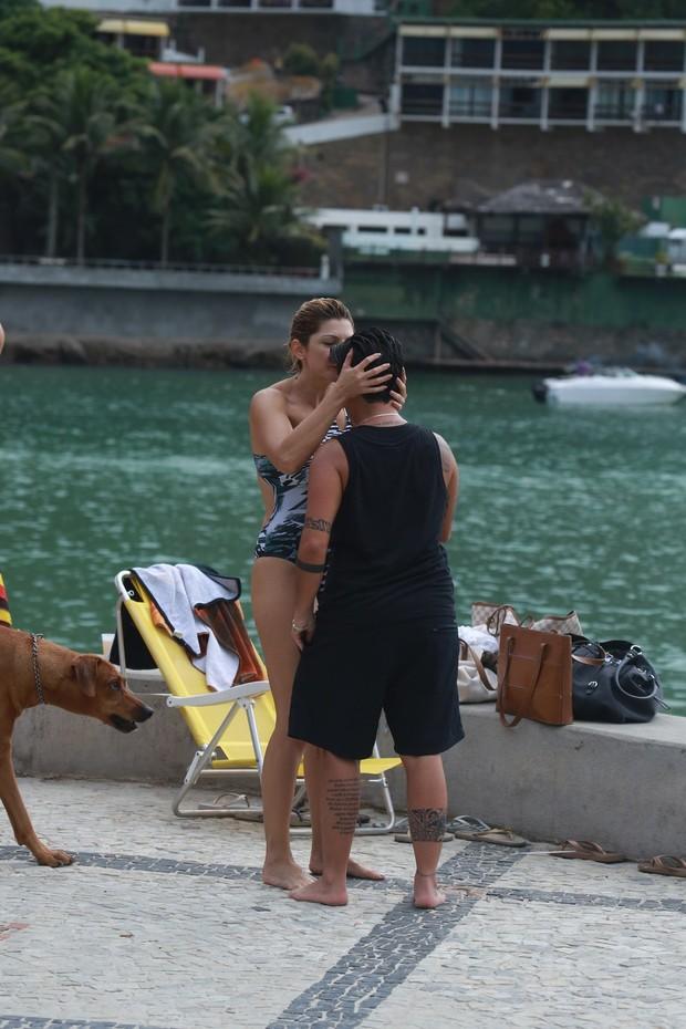 Antonia Fontenelle e Thammy Miranda (Foto: Dilson Silva/ Ag. News)