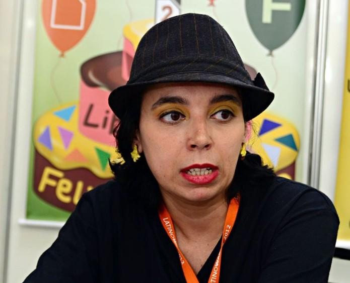 Eliane Domingos é a representante da Libre Office Foundation no Brasil. (Foto: Divulgação/FISL)