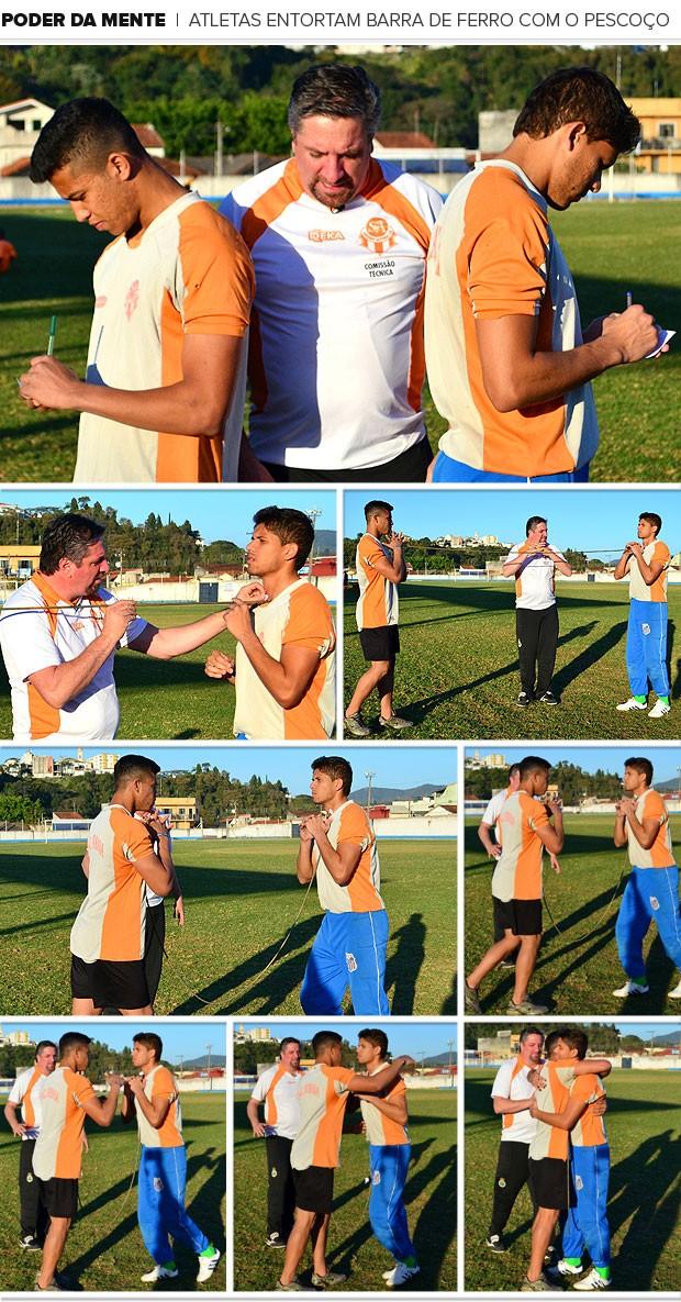 Mosaico Atletas atibaia poder da mente (Foto: Danilo Sardinha)