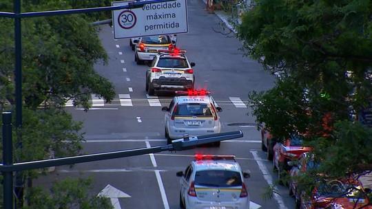 Após reforço de PMs do interior, cai o número de crimes em Porto Alegre