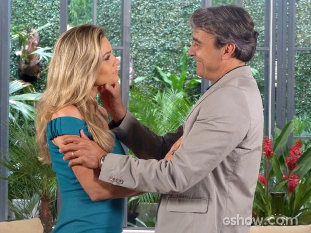 Thomaz e Helô: a plenitude do amor! (Foto: Além do Horizonte/TV Globo)