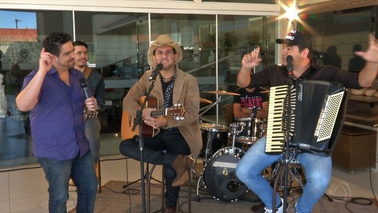 Emoção, descontração e música boa com Pedro e Evandro no Meu MS