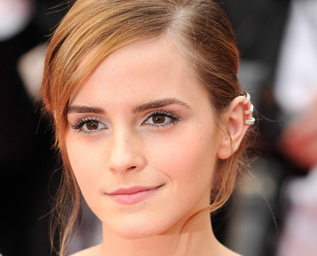 Emma Watson em Cannes com três Ear Cuff (Foto: Getty Images)