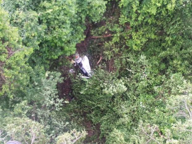 Avião monomotor cai e deixa três pessoas mortas em Goiás, diz FAB (Foto: Divulgação/Graer)