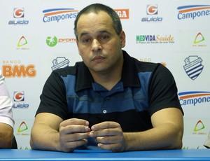 Elias Mansur é o gerente de futebol do CSA (Foto: Bruno Felix/Acom CSA)