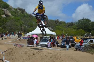 Bike Cleber Santos, Salgueiro (Foto: Cleber Santos / arquivo pessoal)