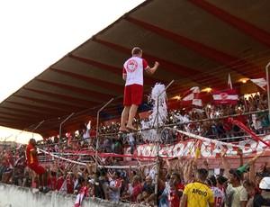 Tricordiano vence o Araxá em casa e consegue acesso inédito para o Módulo 1 do Mineiro (Foto: Reprodução EPTV)