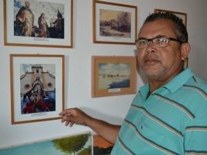 Morador de jaguaribara  Jeso carneiro (Foto: Gabriela Alves/G1)