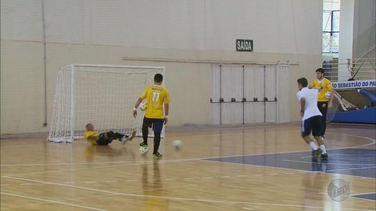 Paraíso se prepara para jogos-treino antes de estreia na Liga de Futsal