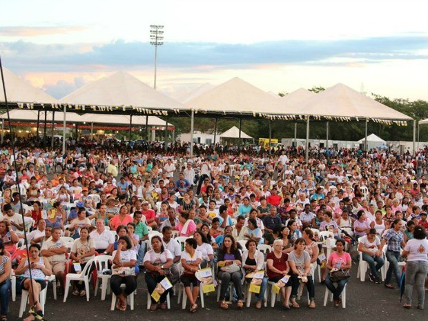 Maior evento católico de MT deve reunir 120 mil pessoas durante 4 dias