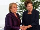 Dilma se reunirá com a presidente do Chile antes da abertura da Copa