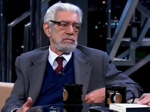 Ivan Junqueira fez parte da ABL (Foto: Reprodução/TV Globo)