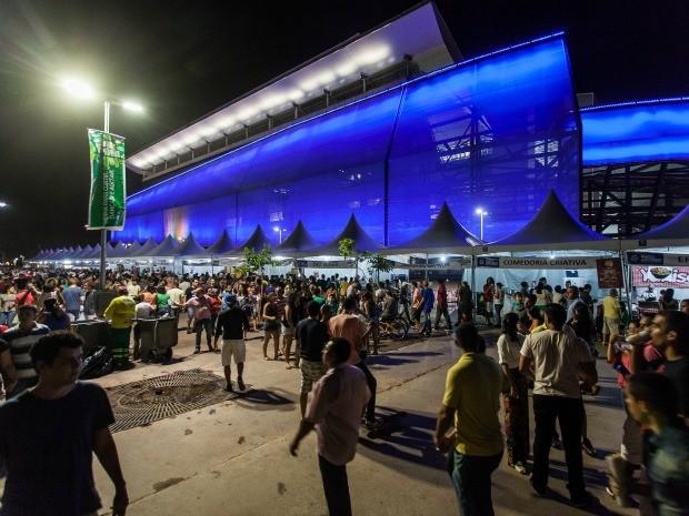 Vem pra Arena (Foto: André Romeu - Gcom/MT)