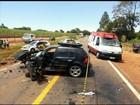 Homem morre em batida envolvendo três carros em Nova Aliança, SP