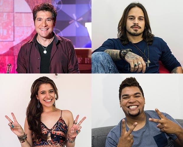 Time Daniel destaca a força de vontade do sertanejo (Foto: Camila Serejo/Gshow)