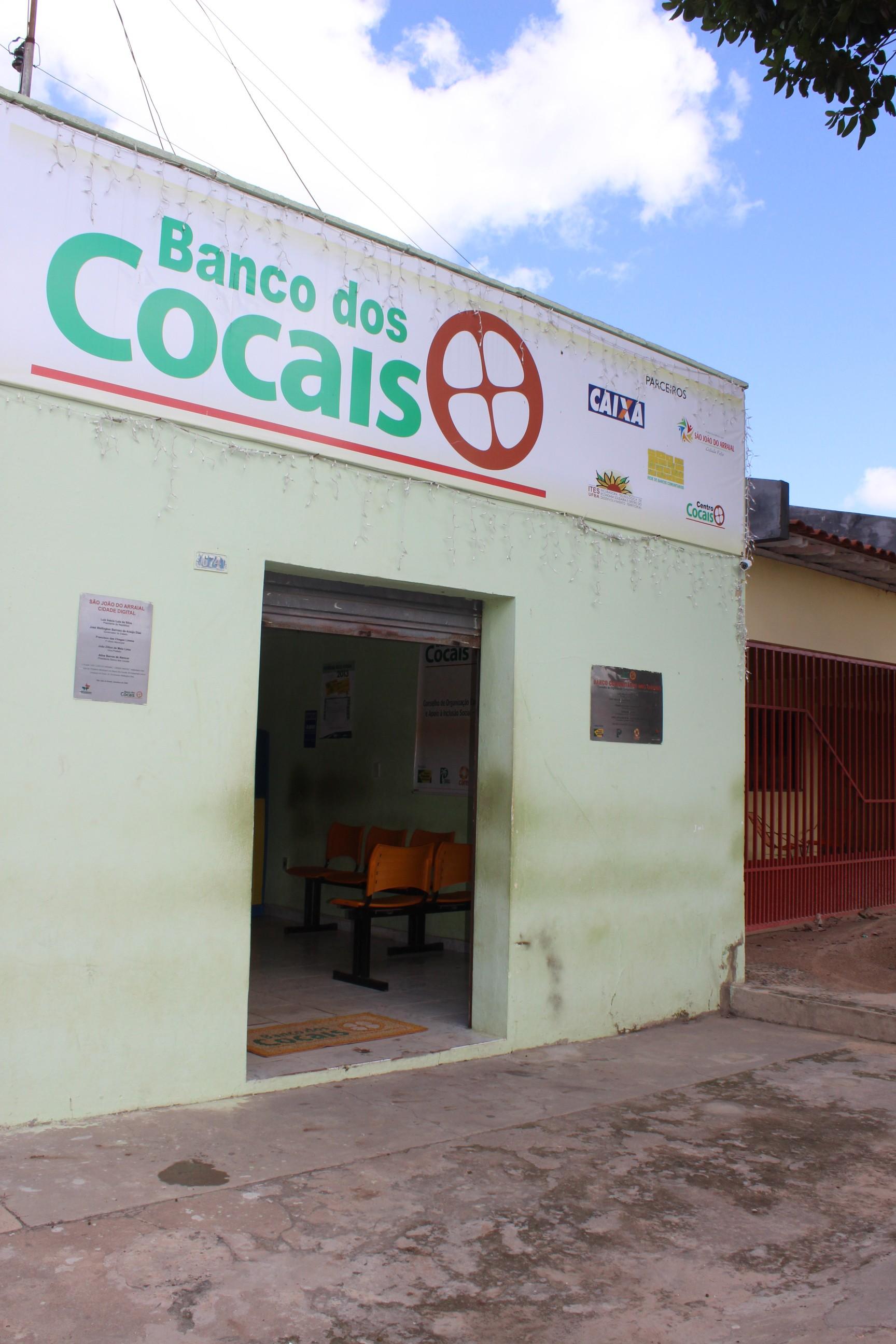 Criação do Banco dos Cocais foi fundamental para circulação do dinheiro (Foto: Catarina Costa/G1)