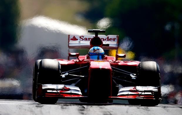Fernando Alonso no Gp da Hungria de 2013 (Foto: Getty Images)