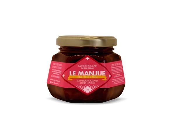 Ganache de frutas vermelhas Le Manjue (Foto: Divulgação)
