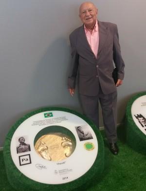 Pacoti é um dos homenageados na memória do futebol cearense (Foto: Tom Alexandrino)