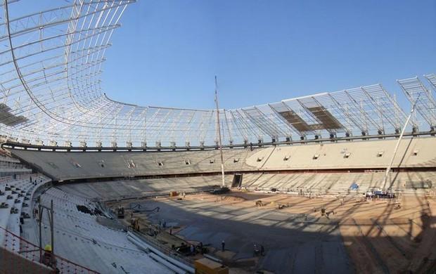 Obras Estádio Castelão copa do mundo 2014 (Foto: Arena)