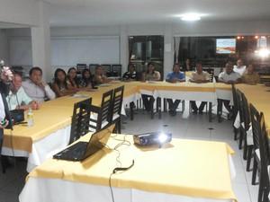 Reunião para elaboração do roteiro turístico em Cabrobó (Foto: Ed Ramos/ Arquivo pessoal)