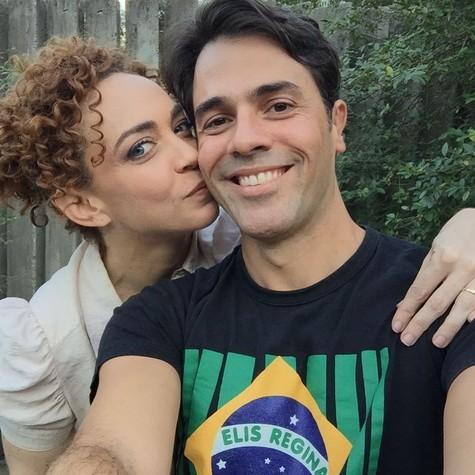 Laila Garin e Cláudio Lins (Foto: Divulgação)