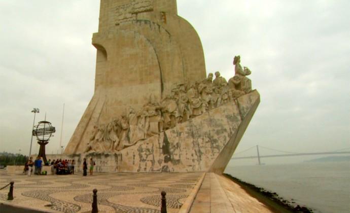 Torre de Belém Lisboa Portugal Copa do Mundo (Foto: Carlos Velardi / EPTV)