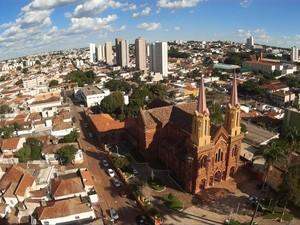 Com drone, morador de Uberaba registra imagens da cidade (Foto: Helder Silva/Arquivo Pessoal)