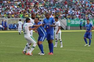Cuiabá x Sinop, final (Foto: Julio Tabile/Sinop FC)