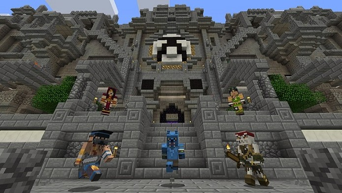 Personagens de Killer Instinct virarão skins em Minecraft no Xbox One e Xbox 360 (Foto: Play XBLA) (Foto: Personagens de Killer Instinct virarão skins em Minecraft no Xbox One e Xbox 360 (Foto: Play XBLA))