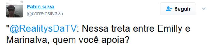 Twitter Treta (Foto: Twitter)