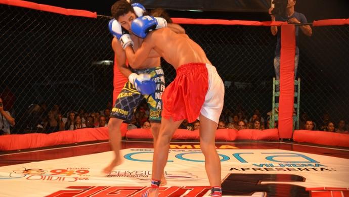 Fight Team Junior Oliveira, em Vilhena (Foto: Lauane Sena)