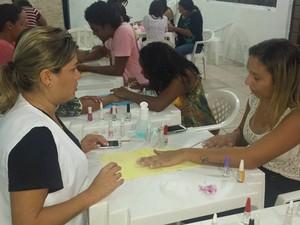 Curso de manicure e pedicure ainda tem vagas  (Foto: Divulgação/ prefeitura de Pederneiras)