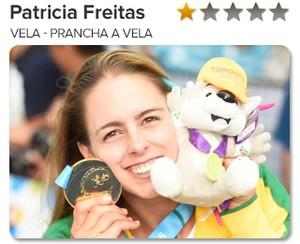 Peso do Ouro - Patricia Freitas - Vela - Prancha a vela (Foto: GloboEsporte.com)