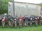 Operação da PM apreende dez motos supostamente roubadas, no Amapá