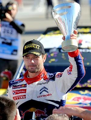 Sébastien Loeb campeão mundial de rali  (Foto: AFP)