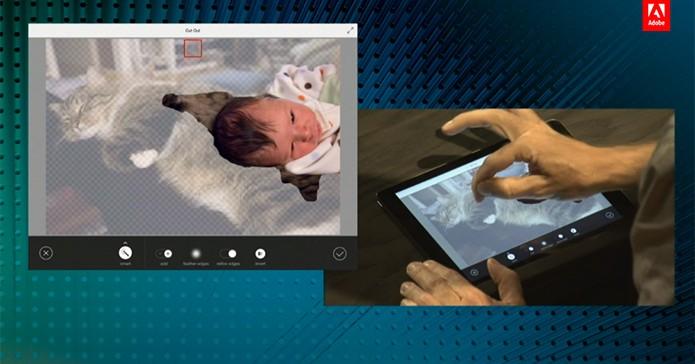 Adobe Photoshop Mix promete oferecer edições mais avançadas que o atual Photoshop Touch (Foto: Reprodução/Adobe)