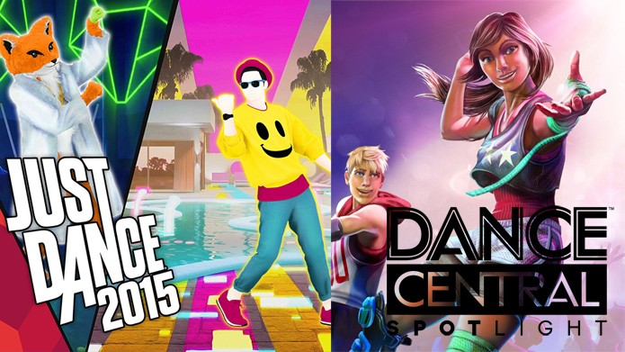 dance central x just dance 2015 confira o comparativo dos. Black Bedroom Furniture Sets. Home Design Ideas