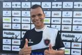 """Warley prevê jogo difícil do Belo com o Sousa: """"é difícil jogar no Marizão"""""""
